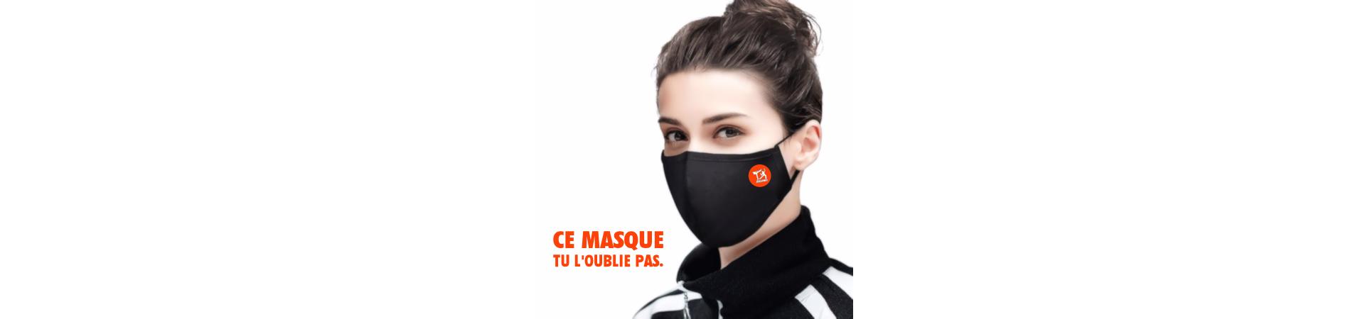 masque de sport ergonomique réutilisable lavable covid19 coronavirus