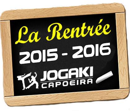 Rentrée 2015 2016 capoeira paris jogaki, inscription et tarifs, prix